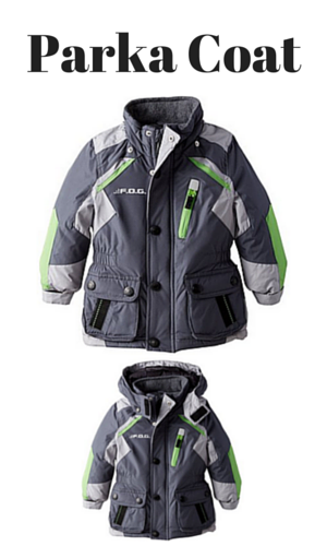 3. London Fog Little Boys' Toddler Heavyweight Parka Coat