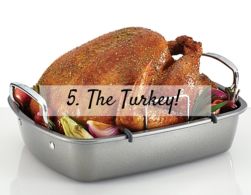 5. The Turkey!