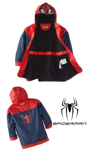 5. Western Chief Little Boys' The Ultimate Spider-Man Rain Coat
