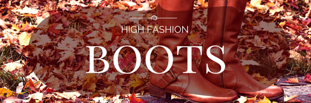 High Fashion Boots for Fall