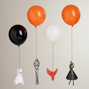 Spooky Halloween Party Balloon Holders