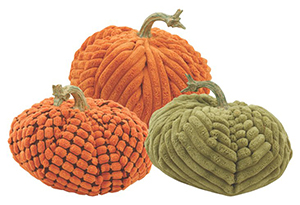 a. Assorted Fabric Pumpkins
