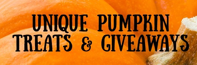 Unique Pumpkin Treats and Giveaways