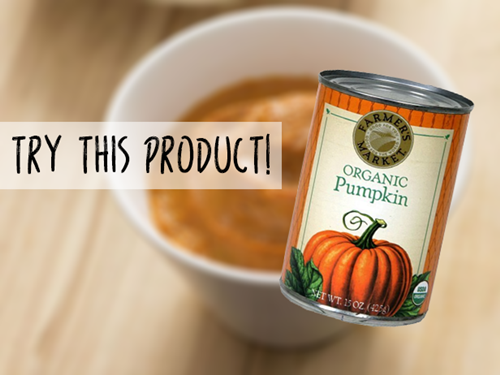 canned pumpkin puree