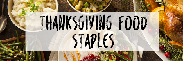 Thanksgiving Food Staples
