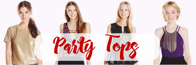Playful and Plain Party Tops