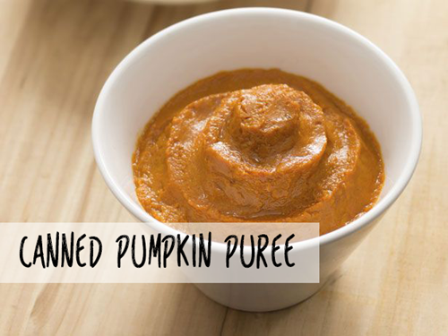 main-pumpkin puree