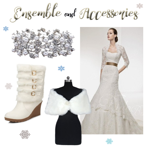 Ensemble & Accessories-Winter Wedding