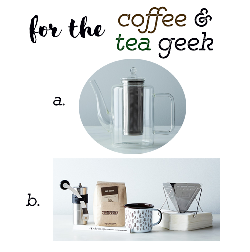 for the coffee and tea geek