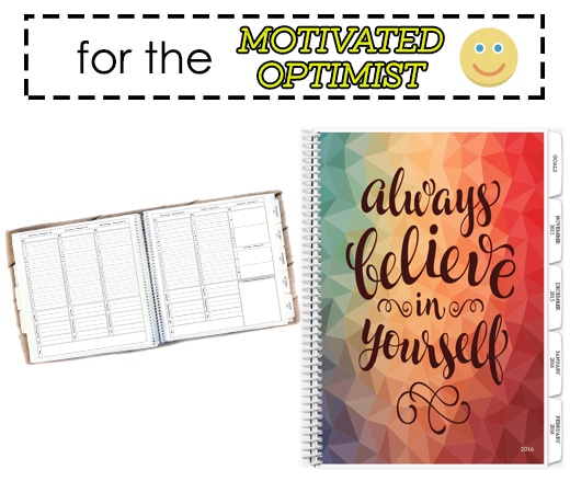 motivated optimist planner