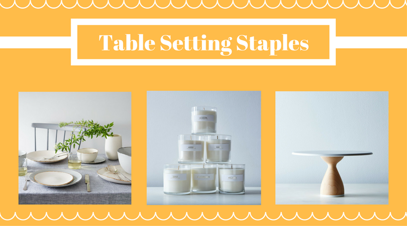 Table Setting Staples