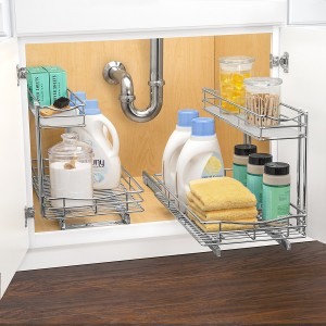 Lynk Professional Roll Out Under Sink Cabinet Organizer