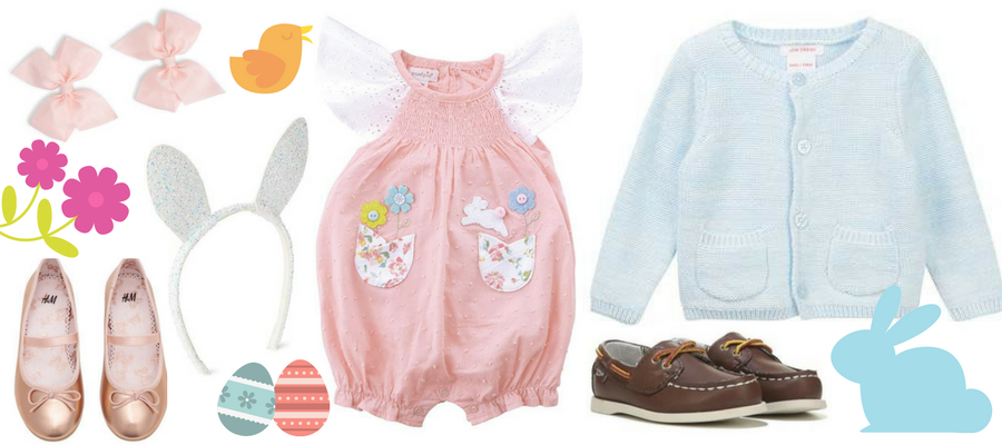 10 Irresistibly Cute Baby & Kids Easter Outfits