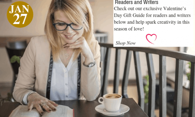 Valentine's Day Gift Guide forReaders and Writers